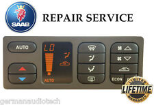 SAAB 93 ACC AUTOMATIC CLIMATE CONTROL COMPUTER LCD - PIXEL REPAIR SERVICE