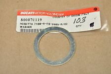 OEM Ducati Monster S4 RS MH900 MTS1000 999 998 996 749 748 Front Wheel Washer