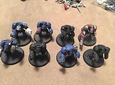 Space Marine Terminator Squad (8)-Warhammer 40k-Dark Angels-Blood-Wolves