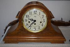 Sligh German Westminster Chime Key Wind Mantle Clock Franz Hermle 340-020
