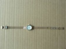 EUROTECH LADIES QUARTZ WRISTWATCH WITH GOLD-TONE METAL BAND *RUNS*