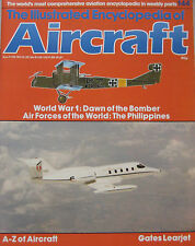 Encyclopedia of Aircraft Issue 144 Gates Learjet cutaway drawing, WWI Bomber