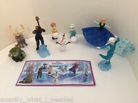 Kinder Surprise Frozen Girls Toys Limited Edition Full Set UK 2016 NEW All 8 BPZ