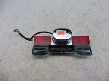 1983 Honda Shadow VT750 H1145-1. license plate light and bracket