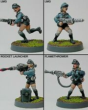 Shadowforge Miniatures Politburo Youth Brigade With Weapons