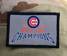 2016 World Series Champions Chicago Cubs Morale Patch Baseball