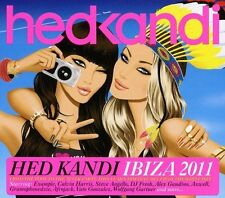 Hed Kandi Ibiza 2011 ~ NEW SEALED 3CD SET  EXAMPLE,CALVIN HARRIS, AND MANY MORE