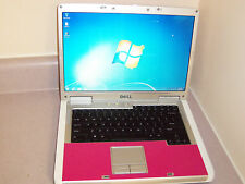 "SUPER! WIN7 HOT PINK &WHITE 15.4"" WIDE WITH WEBCAM DUAL CORE 64X2,1.8G,2GB,60G"