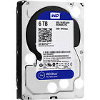 Western Digital 6tb 6 Terabyte WD Blue wd60ezrz 64mb cache new in oem packaging