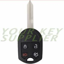 New Replacement 4 Button Remote Head Key Fob 80 Bit Keyless Entry Uncut for Ford