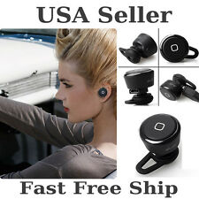 New Smallest Wireless Bluetooth Mini Headset Earphone For iPhone Tablet Samsung
