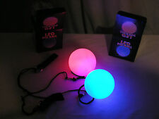 LED Poi balls Pair - flow arts - Beginners - 2015, Boys Girls, Gaggle of Glow
