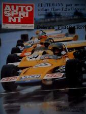 Autosprint 39 1971 Reutemann può ancora soffiare l'Euro F2 a Peterson. Abarth112