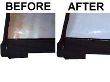 Soft Top Window Restorer Repair and Cleaner Polish     Jeep Wrangler CJ YJ TJ JK