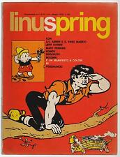 LINUSPRING supplemento LINUS 62 1970 jeff hawke mary perkins romeo brown pring