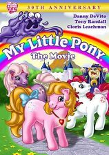 MY LITTLE PONY: THE MOVIE 30TH ANNIVERSARY EDITION - DVD - Region 1 Sealed