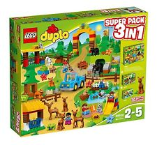 LEGO® DUPLO® 66538 Wildpark Super Pack 3-in-1 NEU _Forest Value Pack NEW MISB