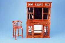 Maison de poupées meubles lit bar haut JIAYI 101-05