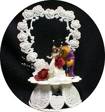 Beauty and the Beast Wedding Cake Topper top Fairytale disney princess Belle