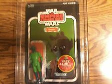 AFA 80 NM 1982 KENNER STAR WARS ESB 47 BACK GREEDO (UNPUNCHED )