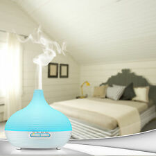 300ml Aromatherapy Essential Oil Diffuser Air Ultrasonic Mist Aroma Humidifier