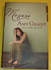 Mosaic - Amy Grant 2007 First Edition Biography Great Photos! Nice See!