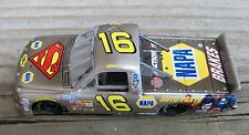 Nascar Ron Hornaday Raw Bare Metal Superman Diecast Racing Toy Race Car 1/64