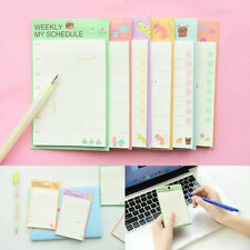 1pc Schedule Organizer Check List Daily Planner Sticker Sticky Notes Memo Pad AU