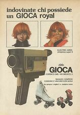 X4855 Indovina chi possiede un GIOCA Royal - Pubblicità 1977 - Advertising