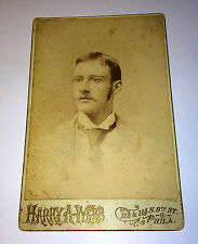 Rare Antique Homeopathic Medicine Early Image Doctor Joseph Rodes! Cabinet Photo