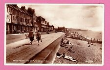Dated 1953. West Beach and Esplanade, Hythe, Kent