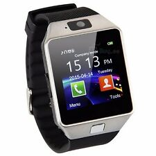 W-09 1.54'Touch Screen Watch Phone Unlock quad band single SIM Card Mobile phone