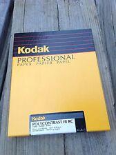 Kodak Professional 100 Box - 8x10 PolyContrast III RC N Semi-Matte Photo Paper