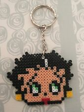 Llavero de Betty Boop hecho con hama beads mini