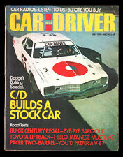 MAY 1976 CAR & DRIVER MAG ~ AMC PACER, TOYOTA CELICA LIFTBACK, BUICK REGAL
