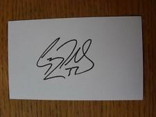 50's-2000's Autographed White Card: Richards, Garry - Gillingham