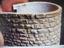 "Chooch (HO/O Scale) #8264 Flexible Cut Stone Large Stone Wall, 3.5""x13"" -  NIB"