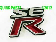 "2001-2002 Nissan Sentra | ""SE R"" Emblem Decal GENUINE OEM BRAND NEW"
