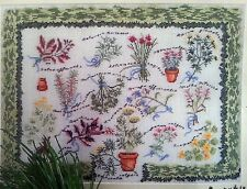 Kreuzstich Packung Kräutergarten Cross Stitch Kit The Herb Garden, permin OVP