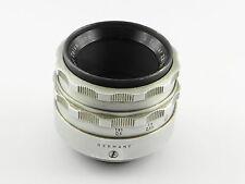Objektiv M42 Carl Zeiss Tessar 2.8/50 Alu - 50mm f/2.8 - Nr. 4937048 (Mo)