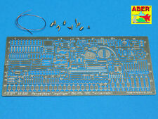 PE for GERMAN TANK DESTROYER JAGDTIGER (Sd.Kfz.186), Basic set, ABER 35228,1:35