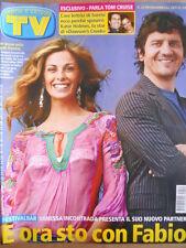 TV Sorrisi e Canzoni n°22 2005 Vanessa Incontrada Fabio De Luigi [D48]