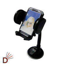 FOR MOBILE CELL PHONES MP3 MP4 UNIVERSAL CAR WINDSCREEN MOUNT HOLDER CRADLE KIT