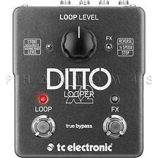 TC Electronic Ditto X2 Looper Pedal Guitar Effect Looping Electronics - NEW