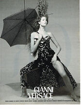PUBLICITE ADVERTISING 094  1993  GIANNI VERSACE  COUTURE  mode 2