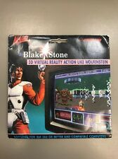 """Vintage 1994 BLAKE STONE ALIENS OF GOLD DOS 3.5"""" Disk PC Computer Video Game New"""