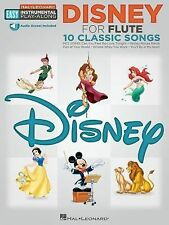 Disney: Flute Easy Instrumental Play-Along Book with Online Audio Tracks, , Good