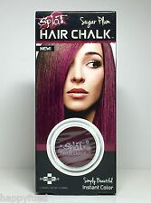 SPLAT Hair Chalk Sugar Plum 1 Compact 3.5g Instant Color Highlights Cruelty FREE