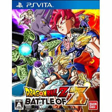 Japan playstation vita PS Vita PSV DRAGON BALL Z BATTLE OF Z