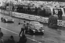 Ford GT40 – finish 1-2-3 victory 24 Hours Le Mans 1966 – Shelby - photograph